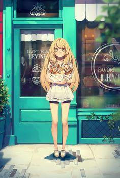 Original Illust | 빵 가게 / パン屋 / Bakery 1604 / Photoshop CC / 3508x5193