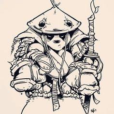 Panda Drawing, Batman Drawing, Epic Drawings, Dark Art Drawings, King Tattoos, Bear Tattoos, Graffiti Drawing, Street Art Graffiti, Pandaren Monk