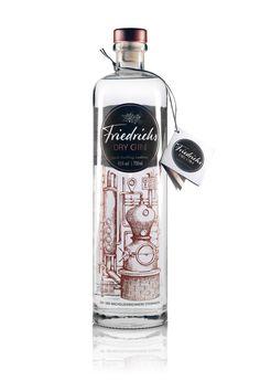 Friedrichs Dry Gin  deutscher Gin im Kupfer-Style