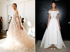 9 Wedding Dress Trends That Will Be Big in 2017 via Brit + Co