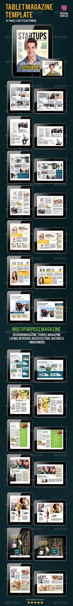 Magazine Template for Tablet - ePublishing