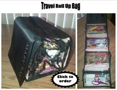 This is the best bag ever for portable #storage!  Use it for makeup and toiletries, #art supplies or whatever else you can think of!  Four expandable, removable bags attached with velcro, a hook for hanging, and a handle for carrying when it is rolled up.  Great for kid's art supplies, college dorms, traveling, or to #organize your bathroom.  Grab the whole thing or just one pocket!  $30 at www.marykay.com/lisarie, free shipping!