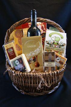 Spectacular Wine Gift Basket: http://www.barbersgiftbaskets.com/gourmet--fruit-baskets.html