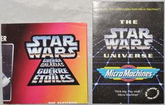 Star Wars Micro Machines Toy Collection 1995 & Kenner Star Wars Toy Info 1995