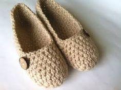 Resultado de imagen para pantuflas tejidas a crochet