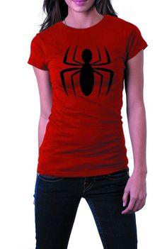 Amazing Spider-Man Logo - Womens T-Shirt LRG