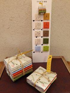 4種\620+税、10種\1300+税で販売されている「山壽杉本商店茶ひと揃え」