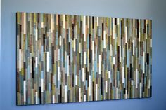 Wood Sculpture Queen Headboard or Wall Art  by moderntextures, $1150.00