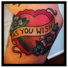 princess bride tattoo - Google Search