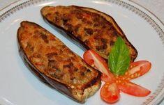 Aubergines farcies à la viande hachée WW, recette d'un savoureux plat complet et léger facile et simple à réaliser pour un repas du soir convivial.