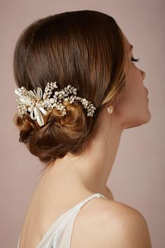 Beautiful Updo & Hairpiece