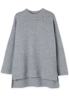 Stepped Roll Neck