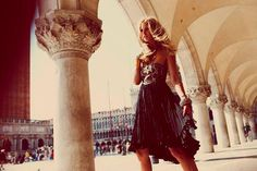 Pretty...Venice, as portrayed in a clothing catalogue.