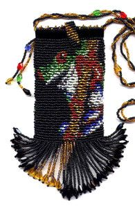 Frog Bag Necklace Beading Pattern and Kit. (Click on photo to go to this on our site). $27.95