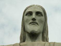 Rio de Janeiro, cabeça do Cristo Redentor.