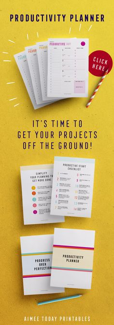 The ultimate get sh*t done daily planner printable, plus a productive start checklist to make sure you start the day right!