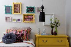 Decoração vintage para o quarto - 1 (© Foto: Divulgação)