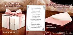 Gift Music Boxes for Granddaughters - Grandmother's Gift Music Box: Grandmother To Granddaughter Gift