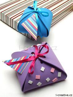 jak vyrobit krabičku na dárek