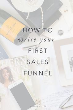 How to write the copy for your sales funnel -- and map it out! #copywriting #entrepreneur