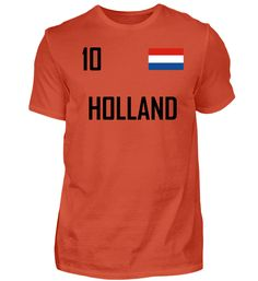 HOLLAND T-Shirt Holland, T Shirts, Sports, Tops, Travel, Fashion, The Nederlands, Tee Shirts, Hs Sports