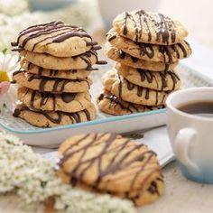 Glutenfria havrekakor Swedish Recipes, Fika, Foods With Gluten, Gluten Free Cookies, Lchf, Sugar Free, Sweets, Healthy Recipes, Snacks