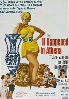 It Happened in Athens (1962) Stars: Jayne Mansfield, Trax Colton, Nico Minardos ~  Director: Andrew Marton