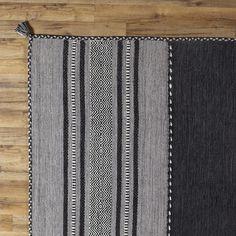 DwellStudio Jadide Gray/Charcoal Area Rug & Reviews | DwellStudio