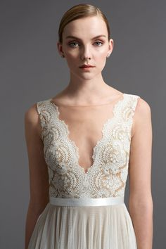 Watters Brides Santina Gown This dress in a blush color... This it THE one! Ugh I love it!
