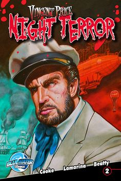 coming soon!  Issue #1From warped minds that brought you Vincent Price Presents comes another fright-fest featuring master of horror.  This time  our favorite ghoulish guide is featured in four original stories that are guaranteed to make you change your pants.