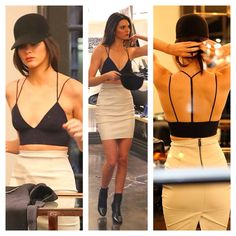 Kendall Jenner - love this look esp that top