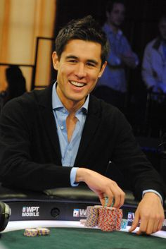 Galen Hall, poker player!