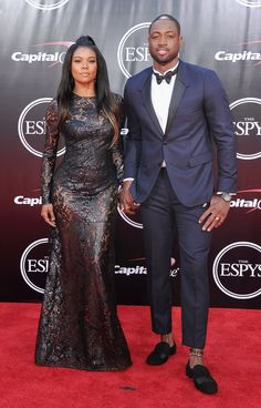 Pin for Later: Gabrielle Union and Dwyane Wade Are Sexy at the ESPYs —and They Know It