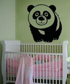 Vinyl Wall Decal Sticker Cute Panda #OS_AA661