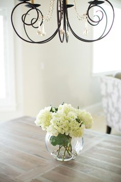 DIY faux flower arrangement - much cheaper than buying a pre-made one!
