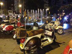 #vespas #Quito #Ecuador Noche de rodada del Club El Avispero