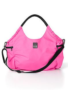 Hobo Gym Bag - super cute and functional!