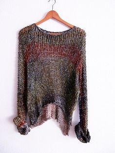 Jersey de algodon teñido por armarioenruinas en Etsy