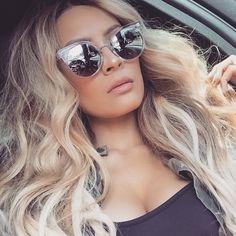 Desi Perkins Quay sunglasses
