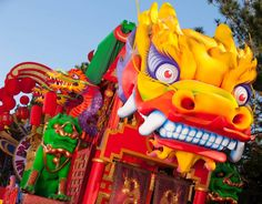 Chinese New Year Dragon Costume Dragon | CloudPix