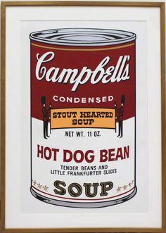 Campbells Soup II: Hot Dog Bean (FS II.59) | Andy Warhol, Campbells Soup II: Hot Dog Bean (FS II.59) (1969)