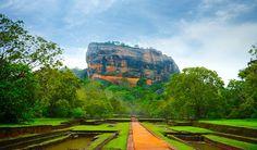Visiting Sigiriya Rock Fortress in Sri Lanka