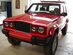 Jeep Cherokee Retro - fitted Kinda different Old Jeep, Jeep Tj, Jeep Wrangler, Jeep Cars, Jeep Truck, Dodge Trucks, Jeep Cherokee Sport, Jeep Grand Cherokee, Honda S2000