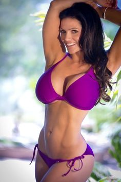 Denise Milani purple bikini photoshoot  #DeniseMilani #DeniseMilanibikini #bikini #bikinimodel #purplebikini #bathingsuit