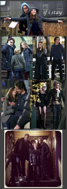 If I Stay movie stills. I really want to see this movie.