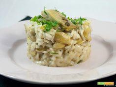 Risotto ai carciofi  #ricette #food #recipes