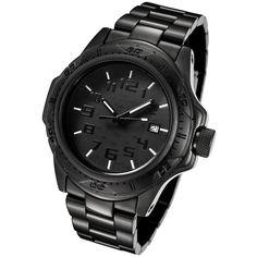 ArmourLite Professional Series AL48 Tactical Watch w/Tritium Illumination, Black #ArmourLite #Tactical