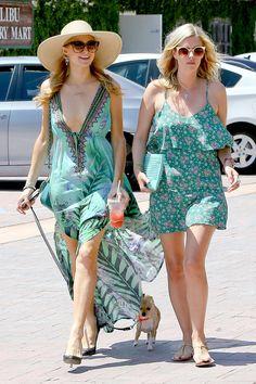 Paris Hilton e Nicky Hilton (Foto: AKM-GSI / AKM-GSI)
