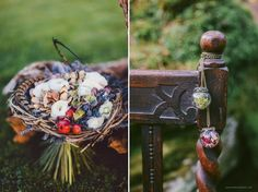 Magical Irish Woodland Wedding ✈ Styled Shoot with White Cat Studio
