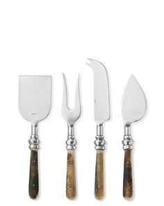 Bone Handled Cheese Knives, Set of 4 #williamssonoma - Christmas present for Mom